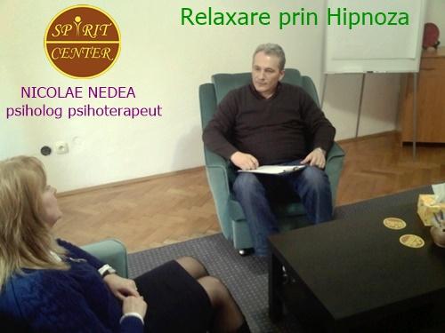 Nicolae Nedea Psiholog Psihoterapeut-Relaxare Prin Hipnoza